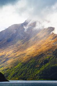 Beautiful Light On Mountains 4k