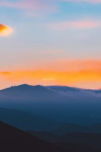 720x1280 Beautiful Morning Landscape Scene 5k