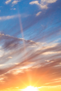 Beautiful Morning Sunrise 5k