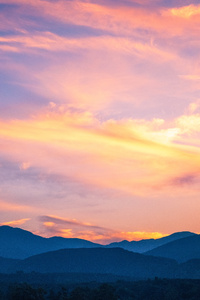 1440x2960 Beautiful Orange Sunset 5k
