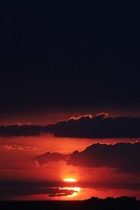 Beautiful Sunset Dark 4k
