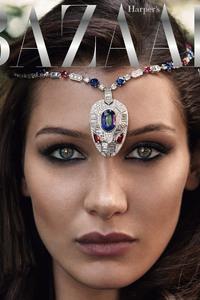 Bella Hadid Harpers Bazaar Arabia 2017