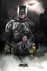 Ben Affleck Batman Artwork