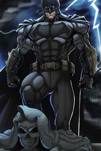 720x1280 Ben Affleck Zsjl Batman 5k