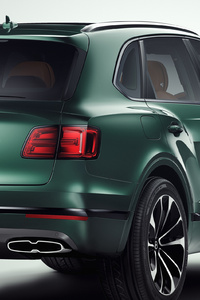 Bentley Bentayga 2018 Rear