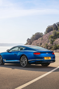 Bentley Continental GT 2017 Rear