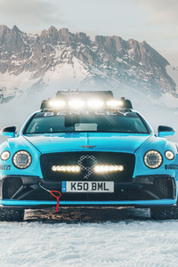 640x1136 Bentley Continental Gt Ice 2020 8k
