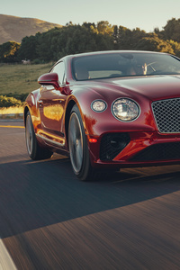 480x800 Bentley Continental GT V8 2020 5k