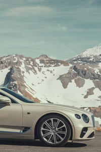 Bentley Continental GT White Sand 2018