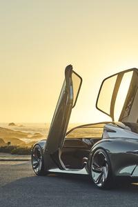 1280x2120 Bentley EXP 100 GT 2019 5k Rear