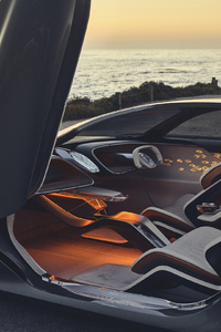 Bentley EXP 100 GT 2019 Interior 4k