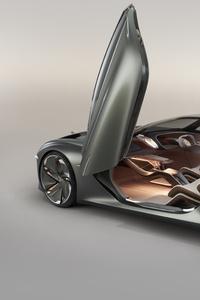 640x960 Bentley EXP 100 GT 2019 Rear