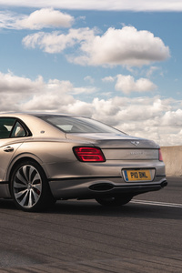 480x800 Bentley Flying Spur Blackline Rear 5k