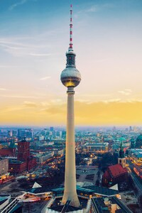 Berlin City View From Top