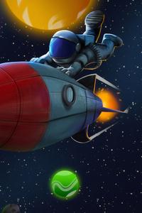 1080x2160 Beyond Space 4k