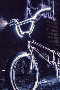 640x1136 Bicycle Neon 5k