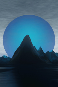 1440x2960 Big Blue Planet Set 5k