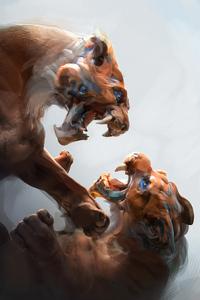 Big Cat Fight