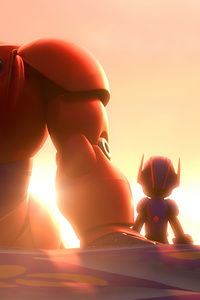 800x1280 Big Hero 6 Movie Art 4k