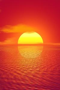 Big Sun Sunset 4k