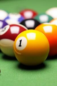360x640 Billard Balls Pool