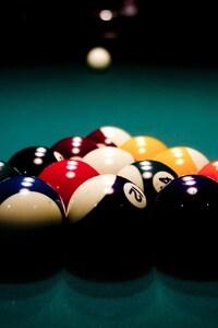 360x640 Billard Balls