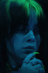 2160x3840 Billie Eilish The Worlds A Little Blurry 4k