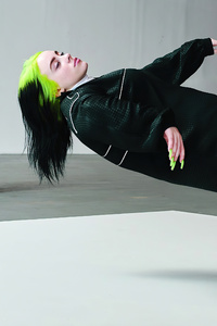 1080x2160 Billie Eilish US Vogue 4k