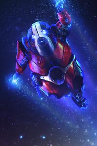 Biotic Winter Mass Effect Andromeda 4k