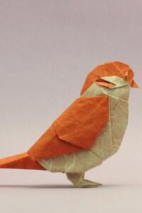 1280x2120 Bird Origami