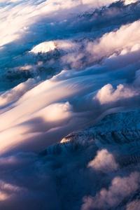 Birds Eye View Of Clouds 5k
