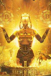 Bitcoin Queen 4k