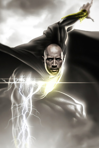 Black Adam 2020 Art