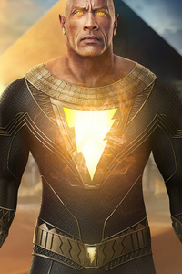 Black Adam 2020 Artwork