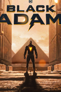 Black Adam 2021 Rock