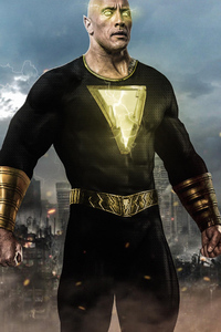 Black Adam 4k Art