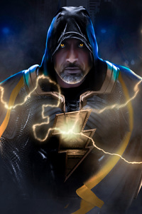 Black Adam Art