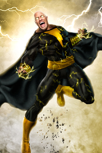 Black Adam Coming