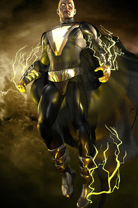 Black Adam Dark Knight 5k