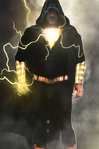 Black Adam In Shazam Movie