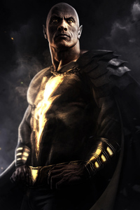 1280x2120 Black Adam Movie