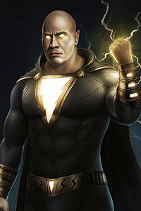 Black Adam Rock 4k 2020