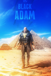 320x480 Black Adam Rock