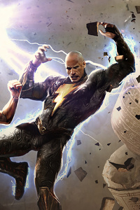 Black Adam Vs Shazam God