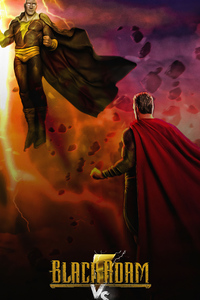Black Adam Vs Superman 4k