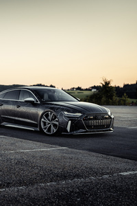 1280x2120 Black Box Richter Audi RS 7 Sportback 2020