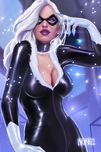 Black Cat 4k Artwork