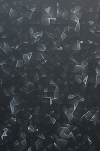 Black Crystals Texture 4k