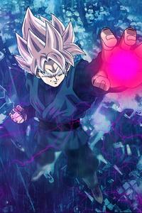 1242x2688 Black Goku