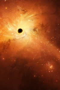 480x800 Black Holes Space